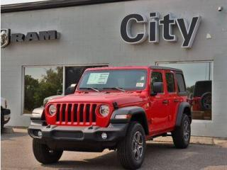 New 2021 Jeep Wrangler Hardtop | Trailer package | 3.6L | 3500lb tow #88 for sale in Medicine Hat, AB