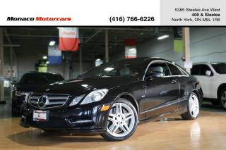 Used 2012 Mercedes-Benz E-Class E550 AMG - LEATHER|PANOROOF|NAVI|BACKUP|BLINDSPOT for sale in North York, ON