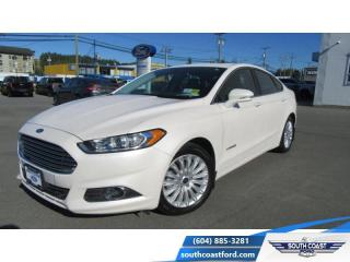Used 2016 Ford Fusion SE Hybrid  - One owner - Navigation - $139 B/W for sale in Sechelt, BC