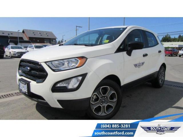 2018 Ford EcoSport S FWD  - One owner - $132 B/W