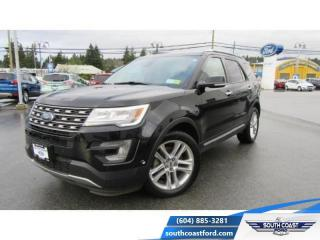 Used 2017 Ford Explorer Limited  - Sunroof - $254 B/W for sale in Sechelt, BC