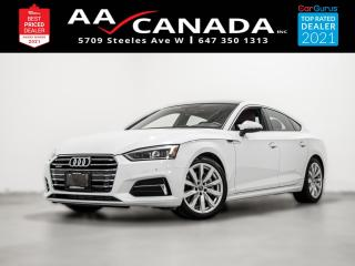 Used 2018 Audi A5 Progressiv | RED LEATHER | for sale in North York, ON