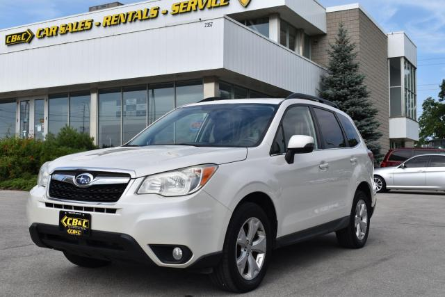 2014 Subaru Forester i Touring - Leather - Heated Seats - Back Up Cam