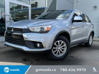 Used 2017 Mitsubishi RVR SE - CLOTH, AWD, HEATED SEATS, BACK UP CAM! for sale in Edmonton, AB