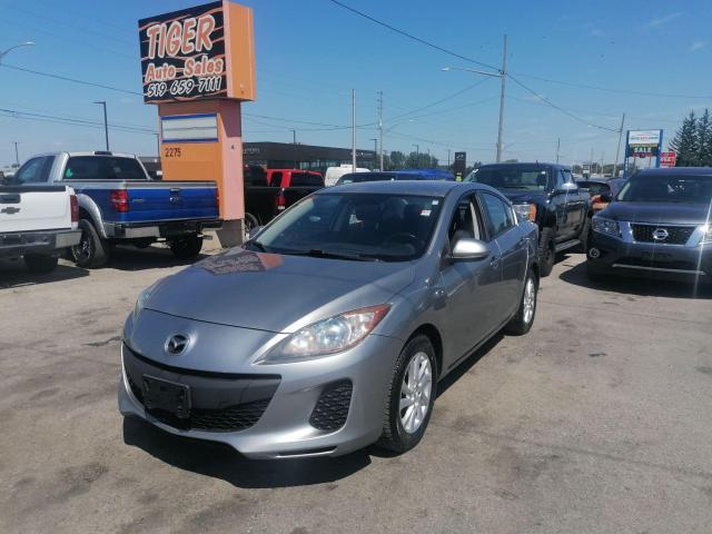 2012 Mazda MAZDA3 SEDAN**AUTO**ALLOYS**CERTIFIED