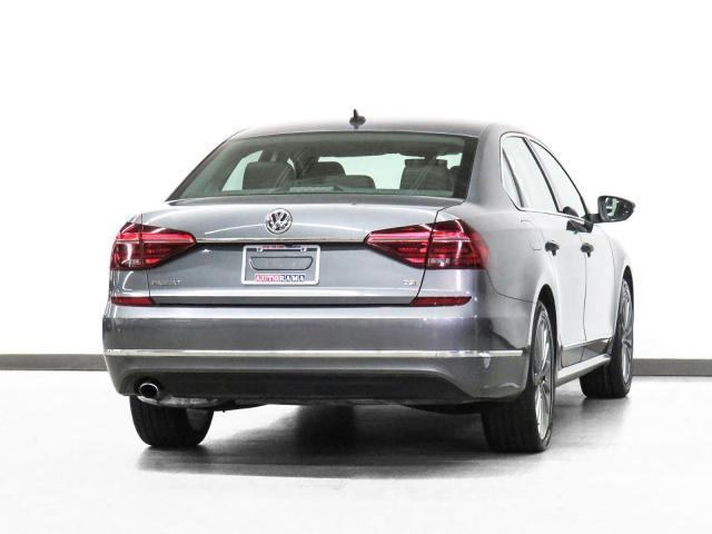 2017 Volkswagen Passat Comfortline Navigation Leather Sunroof Backup Cam