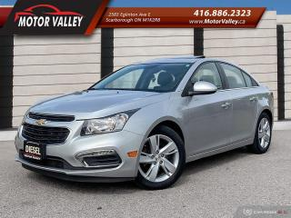 Used 2015 Chevrolet Cruze Diesel Leather - Navigation - Camera Roof Mint! for sale in Scarborough, ON