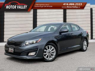 Used 2015 Kia Optima EX *095,597KM* Leather - Navigation - Camera Pano- for sale in Scarborough, ON