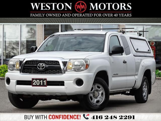 2011 Toyota Tacoma 2.7L*EXTCAB*SHELVING!!*