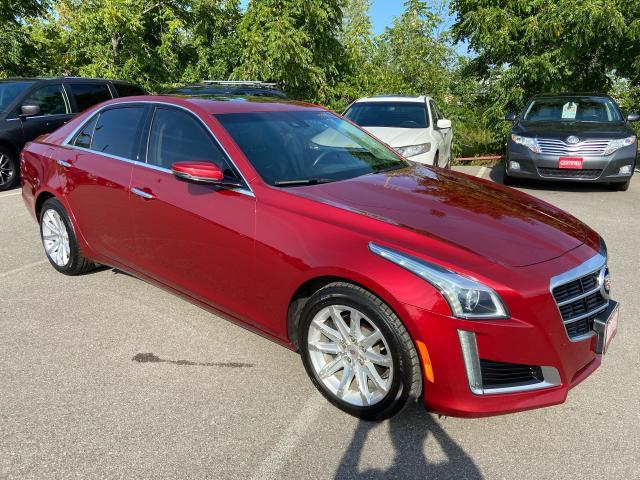 2014 Cadillac CTS Luxury  ** NAV, COLLISION WARN, HTD/CLD LEATH **