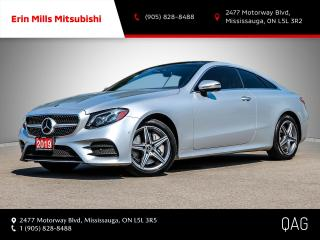 Used 2019 Mercedes-Benz E-Class 4MATIC Coupe for sale in Mississauga, ON