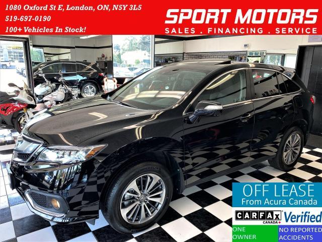 2018 Acura RDX Elite AWD+Lane Keep+Cooled Seats+GPS+CLEAN CARFAX
