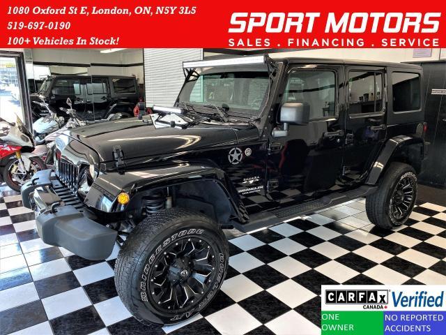 2017 Jeep Wrangler Sahara 4x4+Remote Start+Heated Seats+CLEAN CARFAX