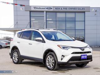 Used 2018 Toyota RAV4 Limited 1 OWNER | NAV | ROOF | HTD LTHR for sale in Winnipeg, MB