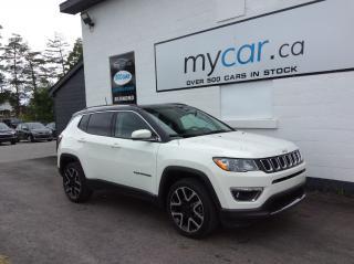 Used 2020 Jeep Compass Limited PANOROOF, LEATHER, NAV, HEATED SEATS, WOW!! for sale in Richmond, ON