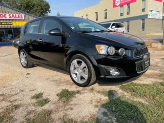 Used 2012 Chevrolet Sonic LT Sunroof! 1.8L LOW KM! for sale in Winnipeg, MB