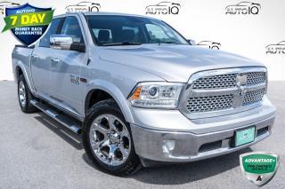 Used 2018 RAM 1500 Laramie LARAMIE!!! 3.0L V6 ECODIESEL!!! KEYLESS ENTER 'N GO!!! for sale in Barrie, ON