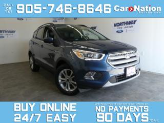Used 2018 Ford Escape SEL | ROOF | LEATHER | NAV | 1 OWNER | LOW KMS! for sale in Brantford, ON