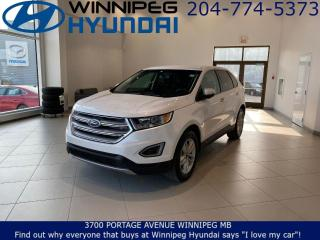 Used 2017 Ford Edge SEL - Heated seats, Bluetooth for sale in Winnipeg, MB