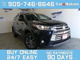 Used 2018 Toyota Highlander XLE | AWD | LEATHER | ROOF | NAV | 1 OWNER |7 PASS for sale in Brantford, ON
