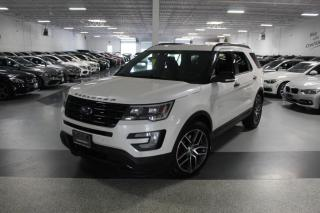 Used 2017 Ford Explorer SPORT I NAVIGATION I LEATHER I PANOROOF I REAR CAM I CARPLAY for sale in Mississauga, ON