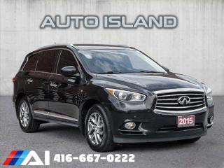 Used 2015 Infiniti QX60 AWD**7 PASS* NAVIGATION for sale in North York, ON