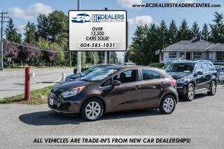 Used 2013 Kia Rio 5 Hatchback, Only 134,000k, Local BC, Alloys, Heated Seats! for sale in Surrey, BC