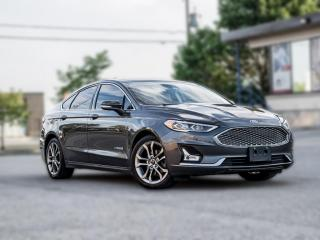 Used 2019 Ford Fusion Hybrid Titanium |NAV|ROOF|B.SPOT|ACC|ROOF|R.STARTER |LOADED for sale in North York, ON