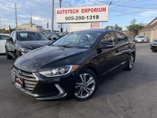 Used 2018 Hyundai Elantra GLS Sunroof/Navigation/Camera/Bluetooth for sale in Mississauga, ON