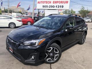 Used 2018 Subaru XV Crosstrek Limited w/Eyesight Navigation/Leather/Sunroof for sale in Mississauga, ON