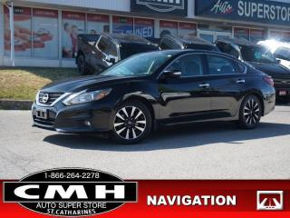 Used 2018 Nissan Altima 2.5  NAV ROOF HTD-S/W REM-START 17-AL for sale in St. Catharines, ON