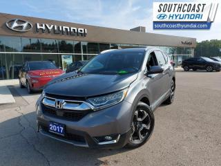 Used 2017 Honda CR-V Touring  - Navigation -  Leather Seats - $185 B/W for sale in Simcoe, ON