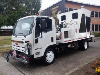 Used 2009 GMC W5500 -HD Line Painter  Diesel Dually for sale in Burnaby, BC