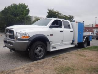Used 2011 Dodge Ram 5500 Flat Deck 9 foot Crew Cab 2WD Diesel for sale in Burnaby, BC