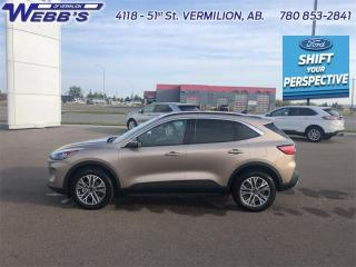 New 2021 Ford Escape SEL AWD for sale in Vermilion, AB