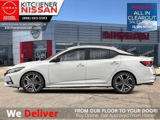 New 2021 Nissan Sentra SR CVT  - Premium Package - Sport Interior - $179 B/W for sale in Kitchener, ON