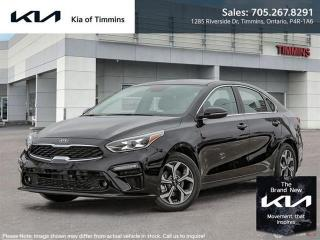 New 2021 Kia Forte EX  - $148 B/W for sale in Timmins, ON