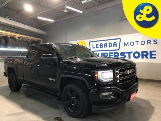 Used 2017 GMC Sierra 1500 Elevation Double Cab 4X4 * 20 Black Alloy Rims * Black Side Steps * Tonneau Cover * Apple Car Play * Android Auto * Phone Projection * 6 Passenger * for sale in Cambridge, ON