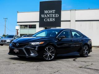 Used 2018 Toyota Camry HYBRID SE | LEATHER | SUNROOF | BLIND | CAMERA | 18 INCH ALLOYS for sale in Kitchener, ON
