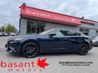 Used 2016 Mazda MAZDA6 GT, Leather, Sunroof, Nav, Heated Seats!! for sale in Surrey, BC