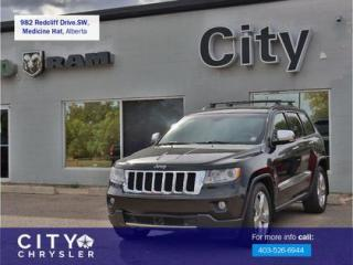 Used 2012 Jeep Grand Cherokee Overland for sale in Medicine Hat, AB
