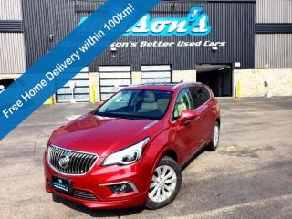 Used 2017 Buick Envision Essence AWD, Leather, Sunroof, Navigation, Heated Seats, Rear Park Assist, Memory Seat and more! for sale in Guelph, ON