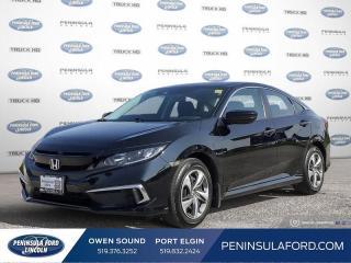 Used 2019 Honda Civic LX - Heated Seats -  Apple CarPlay - $125 B/W for sale in Port Elgin, ON