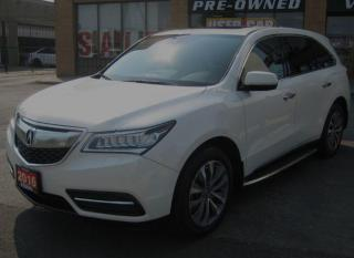 Used 2016 Acura MDX SH-AWD 4dr Nav Pkg Tech Package Driver's Assist for sale in North York, ON