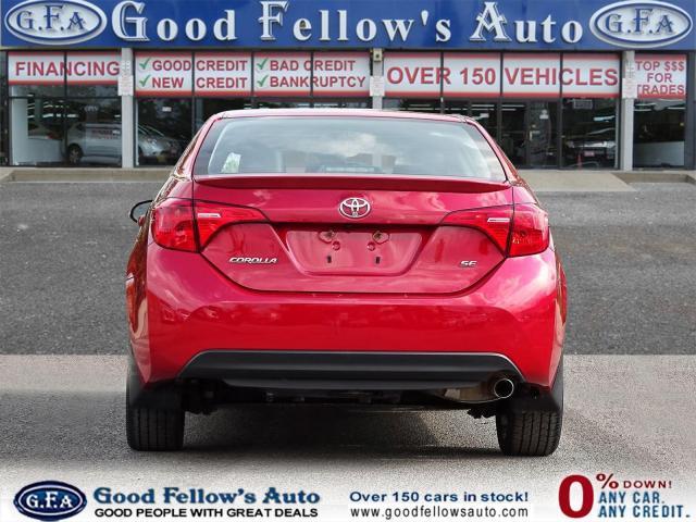 2017 Toyota Corolla SE MODEL, SUNROOF, BACKUP CAMERA, HEATED SEATS,LDW Photo4