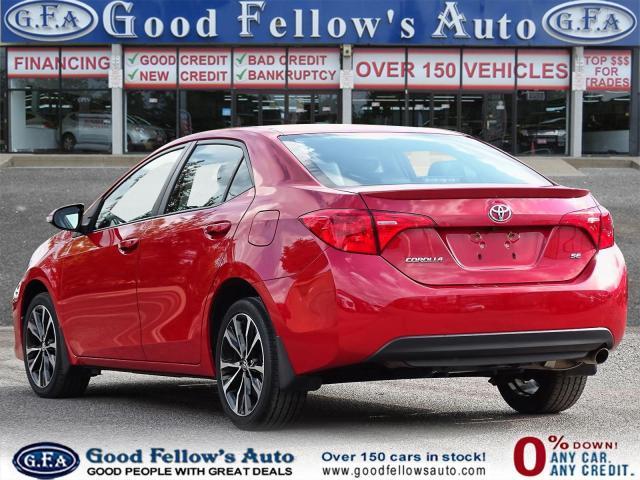 2017 Toyota Corolla SE MODEL, SUNROOF, BACKUP CAMERA, HEATED SEATS,LDW Photo5