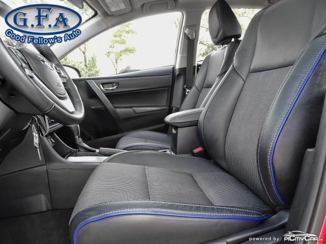 2017 Toyota Corolla SE MODEL, SUNROOF, BACKUP CAMERA, HEATED SEATS,LDW Photo8