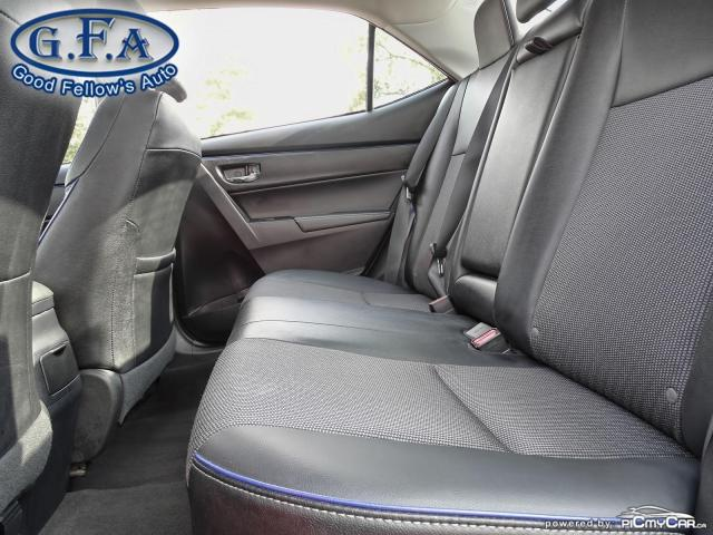 2017 Toyota Corolla SE MODEL, SUNROOF, BACKUP CAMERA, HEATED SEATS,LDW Photo9