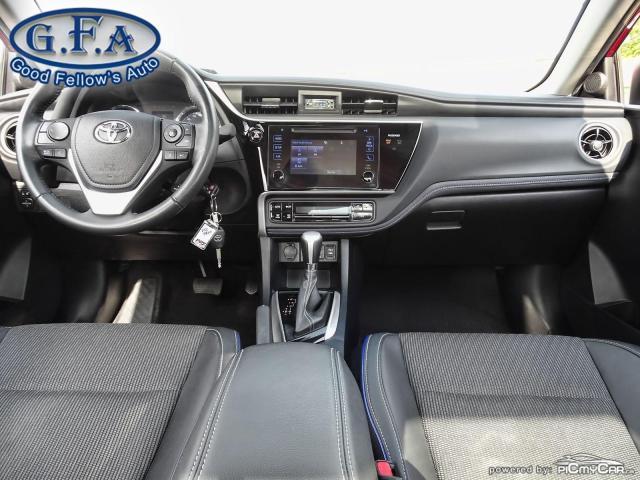 2017 Toyota Corolla SE MODEL, SUNROOF, BACKUP CAMERA, HEATED SEATS,LDW Photo11