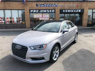 Used 2016 Audi A3 2.0T Komfort for sale in North York, ON